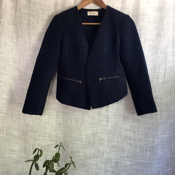 cheapest price ever popular exclusive deals NAF NAF Paris Textured Open Front Jacket w/ Pocket